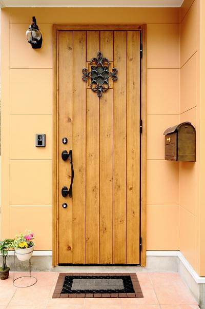 玄関の様子です