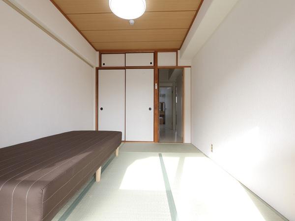 1室は、和室になっています。