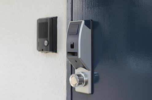 ICキーでⅠ~Ⅵまで入れる安心セキュリティの玄関です。