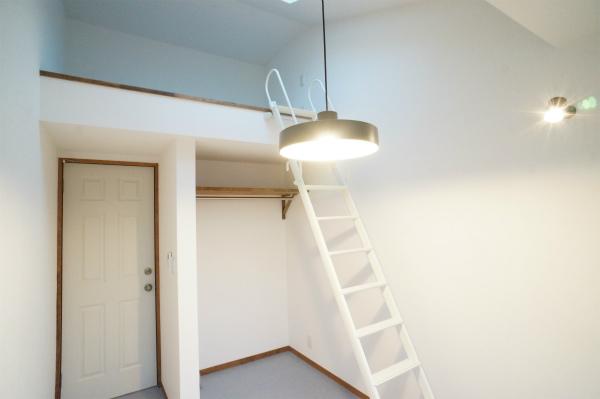 3Fは、ロフトスペース付きのお部屋になっています。