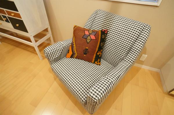 お気に入りのソファ、見つけた!