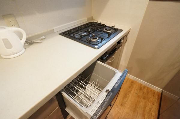 豪邸の証。食洗機があります。