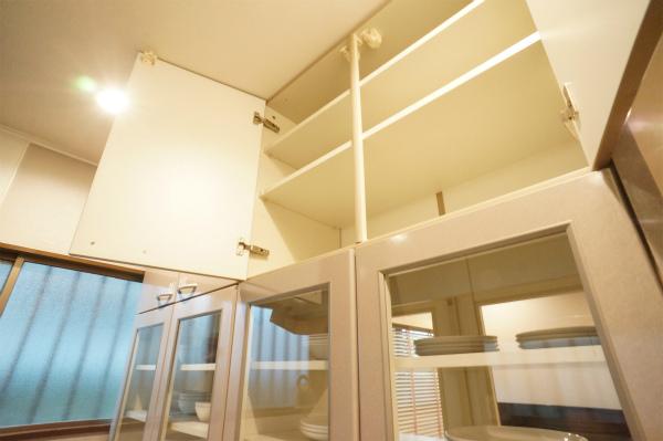 各居室ごとにキッチン収納が用意されています。
