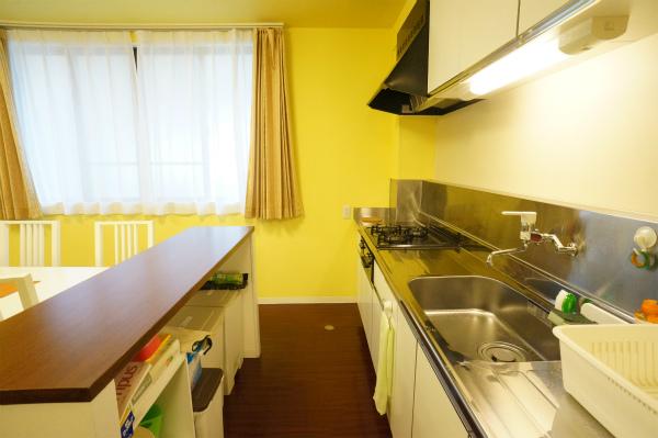 キッチンには、収納力もあります。