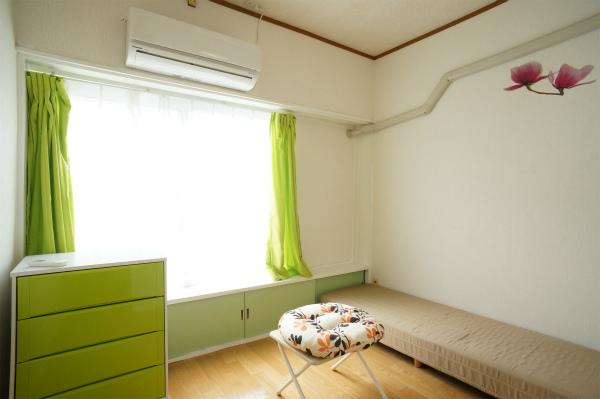 2Fのお部屋は、日当たりも抜群!
