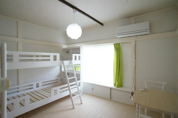 個室とドミトリータイプが用意されているので、ご予算に応じて選べるのがうれしい。