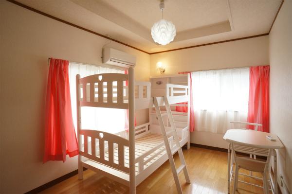 こちらもドミトリーのお部屋です。2部屋だけドミトリーになっています。
