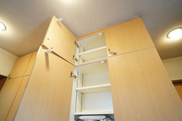 各お部屋毎にキッチン収納があるのがうれしい。