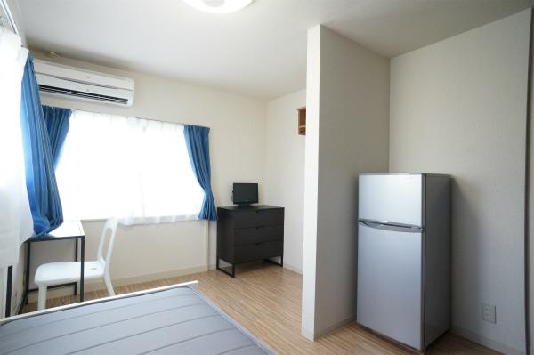 各お部屋毎に冷蔵庫があるのはうれしいポイント。