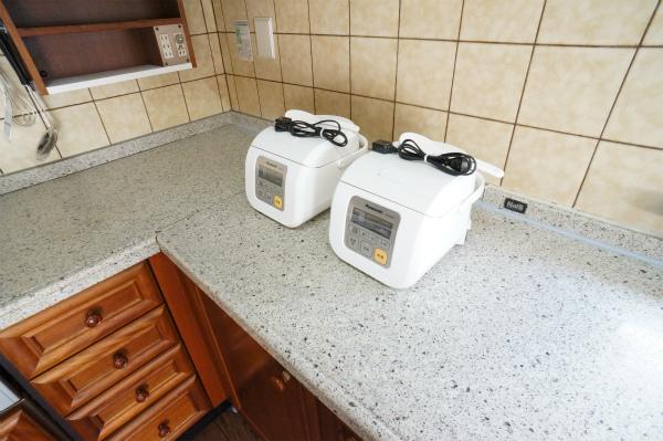 双子の炊飯器。