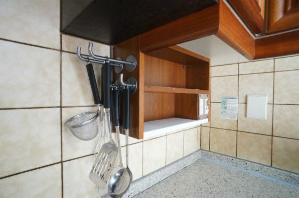 調理器具はすぐ取り出せるところに。