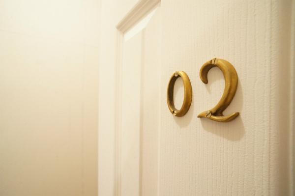 こちらは02号室。こちらのハウスは、2部屋しかありません。