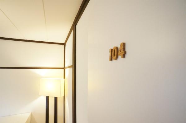 7部屋の物件です。こちらは104号室です。