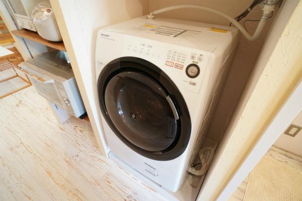洗濯機は、憧れのドラム式♪