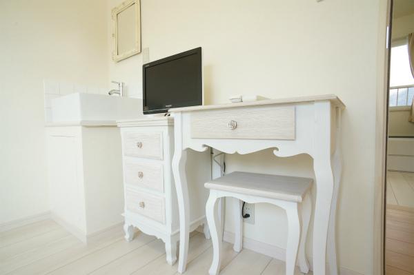 家具もかわいいもので統一されています。