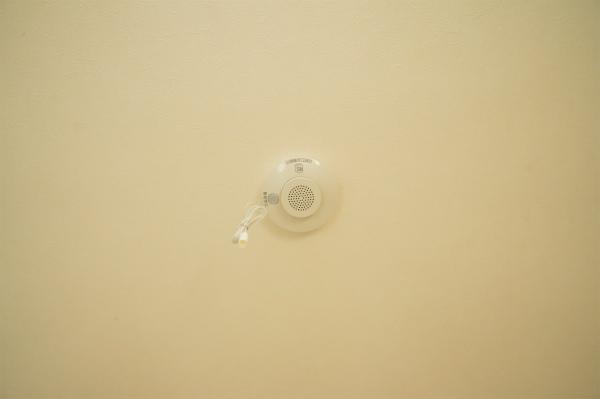 自動火災報知機もあるので、有事の際も安心です。
