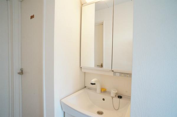 1Fに洗面所が2つ用意されています。
