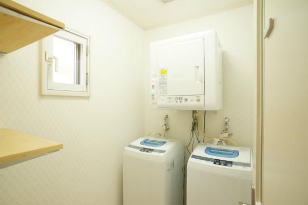 洗濯機も乾燥機も無料です。