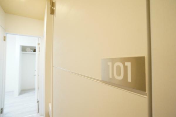 101号室を見てみましょう。