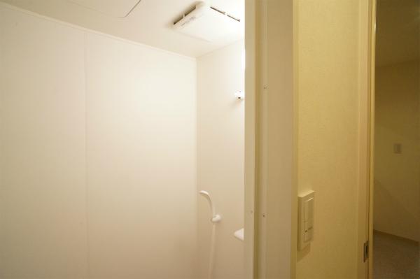 シャワーもあります。時間がないときはこちらでサクッと。