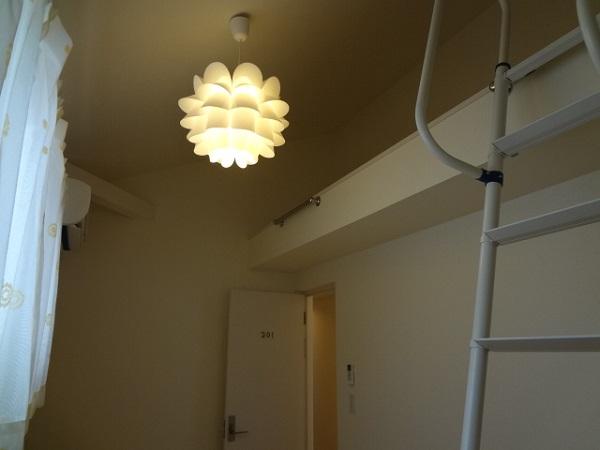 2Fのお部屋にはロフトが付いています。
