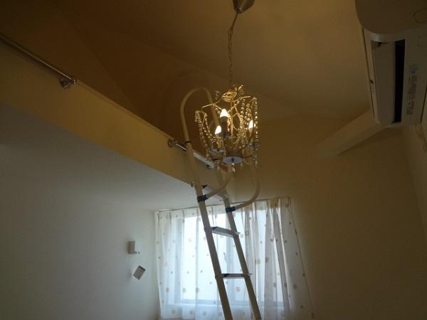 照明もお部屋毎に違いますね!