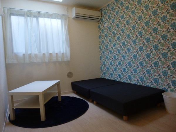 家具付のお部屋です。
