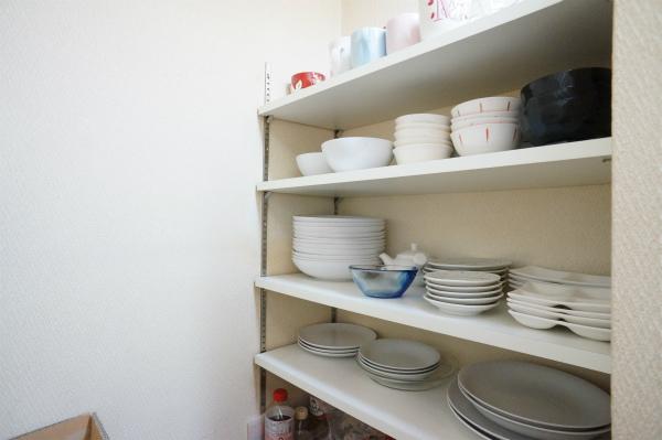 食器も揃っているので、自分で購入する必要性はありません。