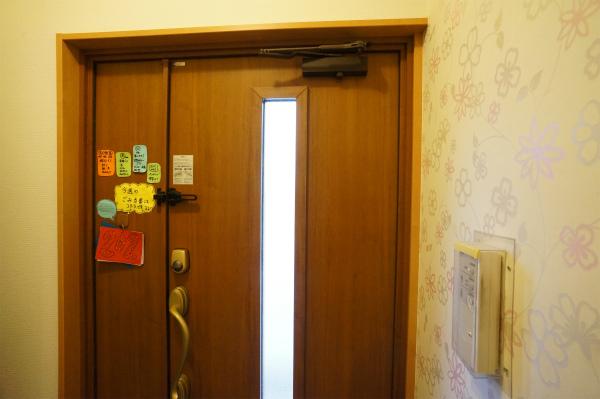ドアはもちろんオートロックです。