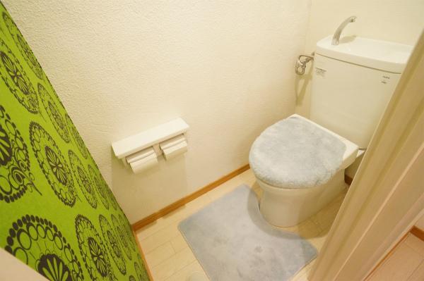 トイレは1Fと2Fにそれぞれあります。