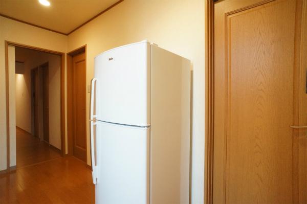 フロア毎に冷蔵庫があるのが嬉しい。