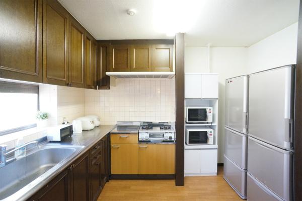 空間がゆったりしていて、料理もしやすそうです。