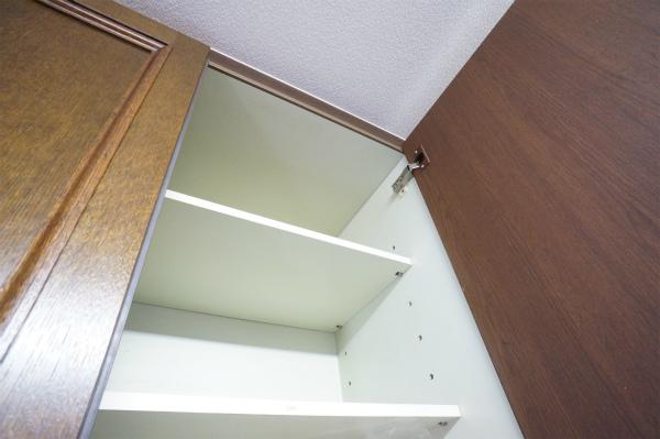 収納もお部屋毎にあるので、便利です。