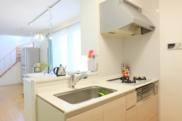 いつも清潔感のあるキッチンです。