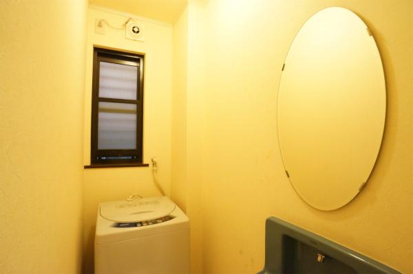 独立した洗濯室