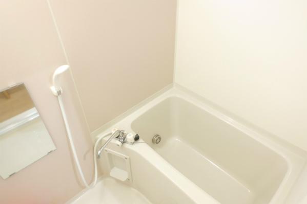 バスルームも1つ。ゆったりバスタイムを楽しむならこっちでしょう。