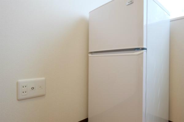 各お部屋毎に冷蔵庫があります。