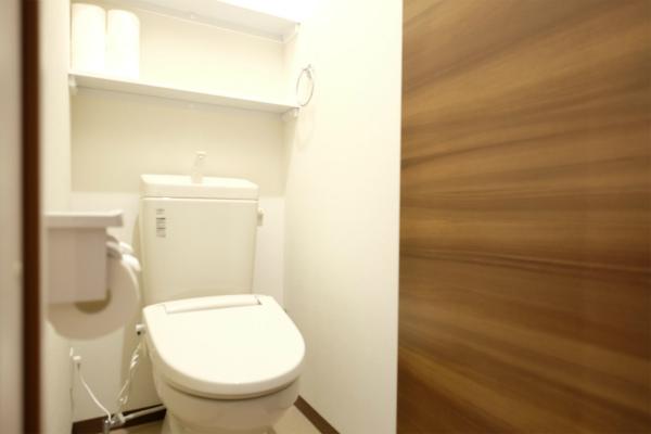 こちらは2Fのトイレ。1Fにもあります。