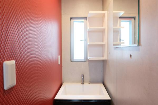 洗面所は1Fと2Fのそれぞれにあるので、便利です。