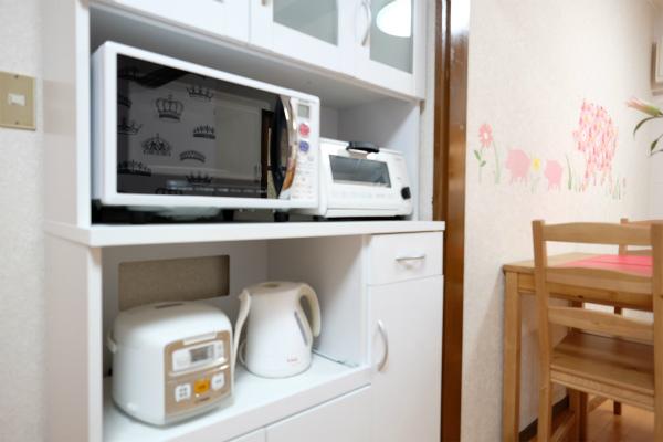 生活に必要なキッチン家電は揃っています。