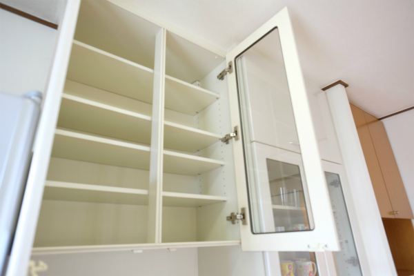 収納はお部屋毎に仕切られる予定です。