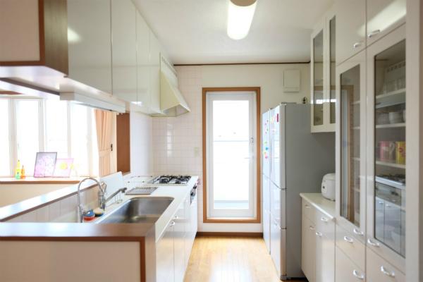 元高級住宅仕様のキッチンです。