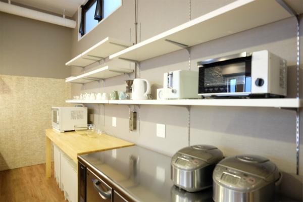 キッチン家電は最新のモノが揃っています。