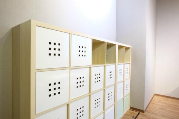 キッチン収納もお部屋毎に。