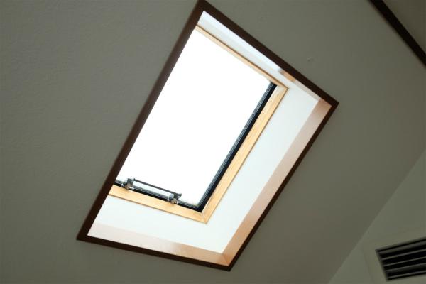 天窓があります。
