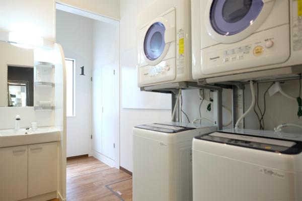 洗濯機と乾燥機にも女性専用が用意されています。
