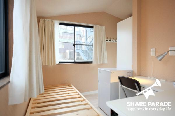 個性的なお部屋がたくさんあります。こちらは5Fのお部屋。