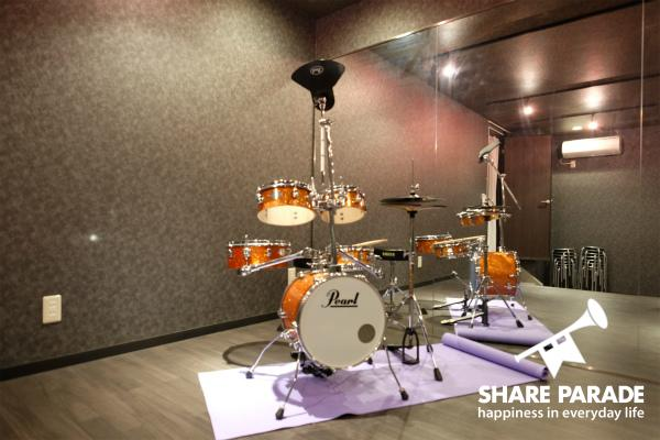 ドラムのご用意もございます。