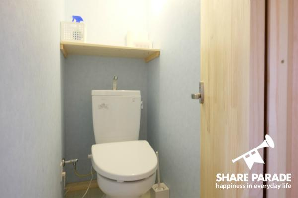 爽やかなトイレです。