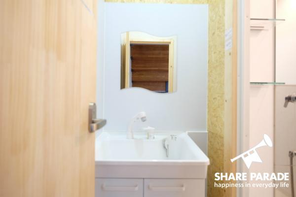 2Fにある洗面所です。